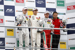 Podium: 1. Lance Stroll, Prema Powerteam Dallara F312 - Mercedes-Benz; 2. Maximilian Günther, Prema