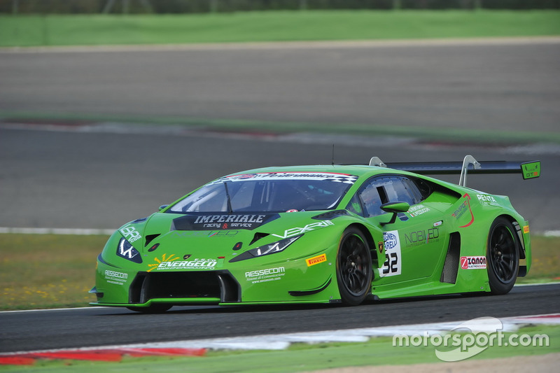 Lamborghini Huracan S.GT3 #32, Imperiale Racing, Pezzucchi-Venturini