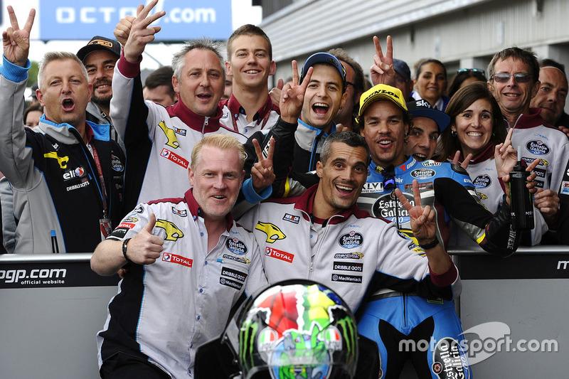 Second place Franco Morbidelli, Marc VDS