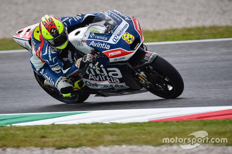 Hector Barbera (Avintia Racing) 12. Platz