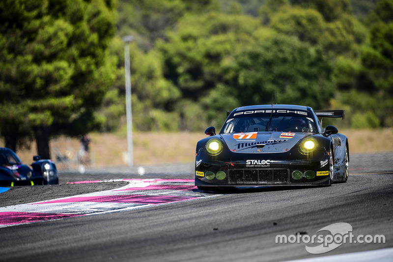 #77 Proton Competition Porsche 911 RSR 991: Mike Hedlund, Marco Seefried, Wolf Henzler
