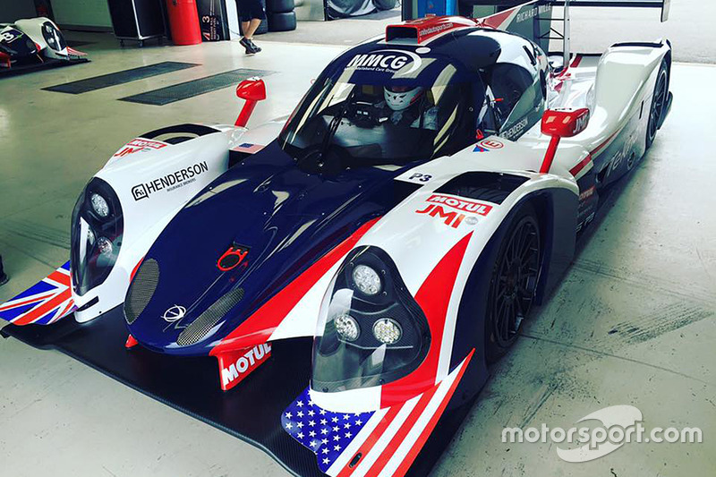 United Autosports testing