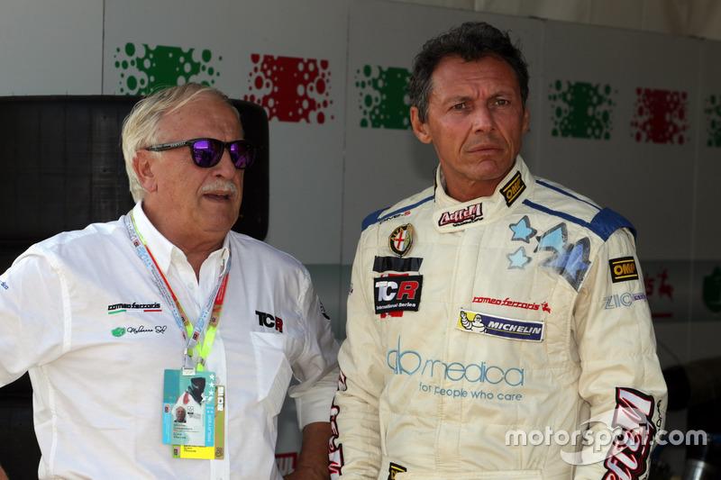 Mario Ferraris, Alfa Romeo Giulietta TCR, Mulsanne Racing; Claudio Bortoletto, Mulsanne