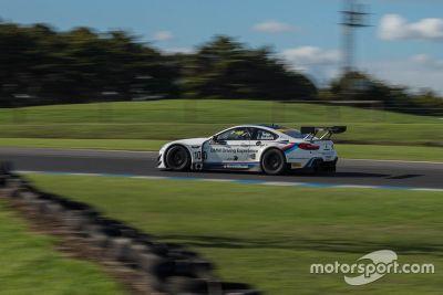 BMW Team SRM testing