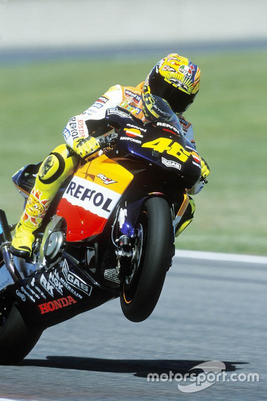 Sieger Valentino Rossi, Honda Team