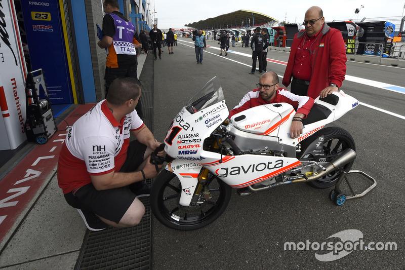 Mahindra Aspar team garaj