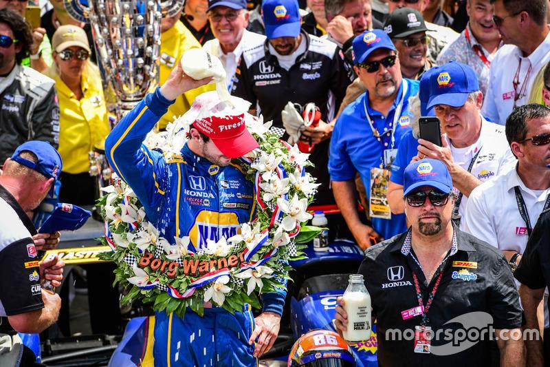 Alexander Rossi, Herta - Andretti Autosport Honda, ganador de la carrera