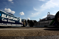 Porsche 956 and Williams F1