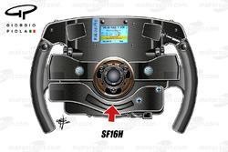 Ferrari SF16H volante