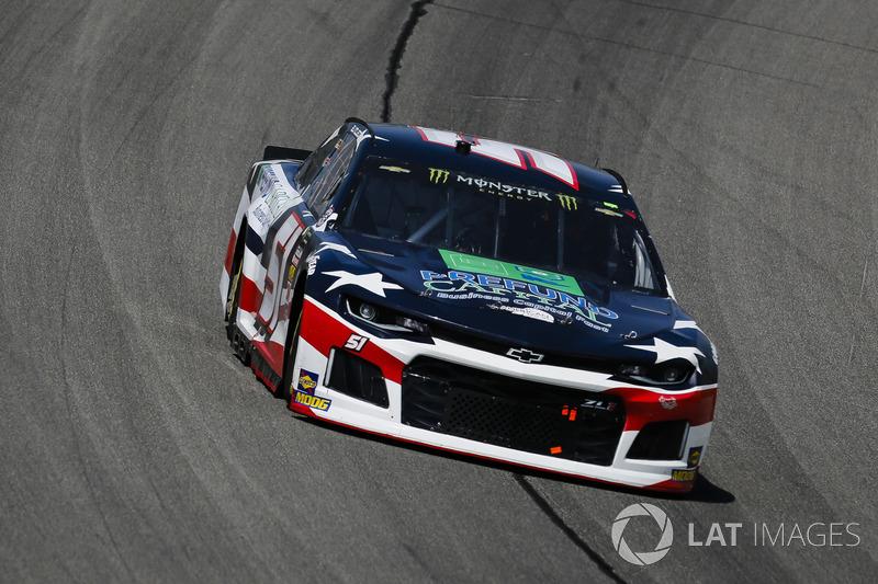 B.J. McLeod, Rick Ware Racing, Ford Fusion