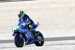Andrea Iannone, Team Suzuki MotoGP after his crash
