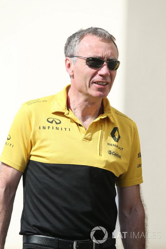 Bob Bell, directeur technique de Renault Sport F1 Team