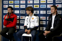 Press Conference, Mike Rockenfeller, Audi Sport Team Phoenix, Augusto Farfus, BMW Team RMG, Paul Di Resta, Mercedes-AMG Team HWA