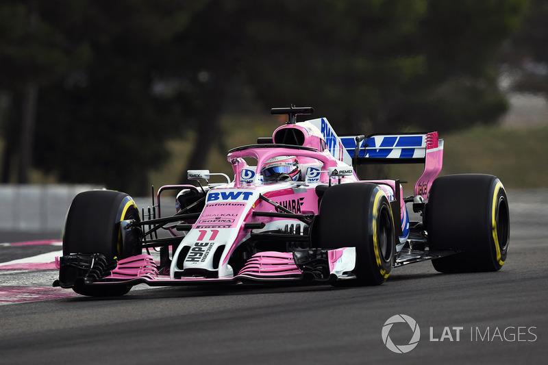 20 місце — Серхіо Перес, Force India. Умовний бал — 3,29