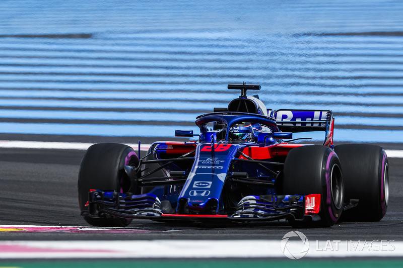 17 місце — Брендон Хартлі (Нова Зеландія, Toro Rosso) — коефіцієнт 2501,00
