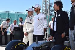 Lewis Hamilton, Mercedes-AMG F1, Valtteri Bottas, Mercedes-AMG F1, Giuseppe D'Arrigo, Petronas