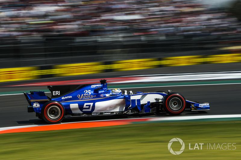 12. Marcus Ericsson, Sauber C36