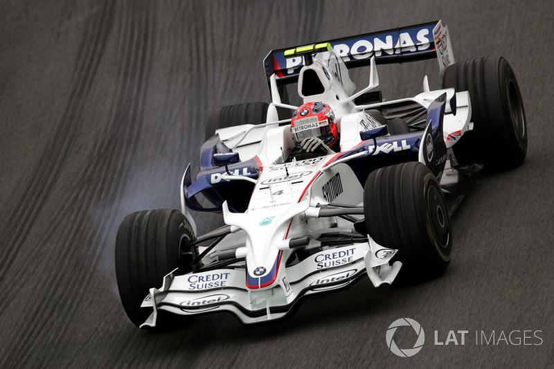 2008: Robert Kubica, BMW Sauber F1.08