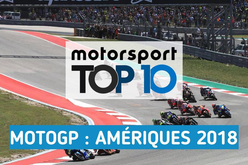 Le top 10 du GP des Amériques