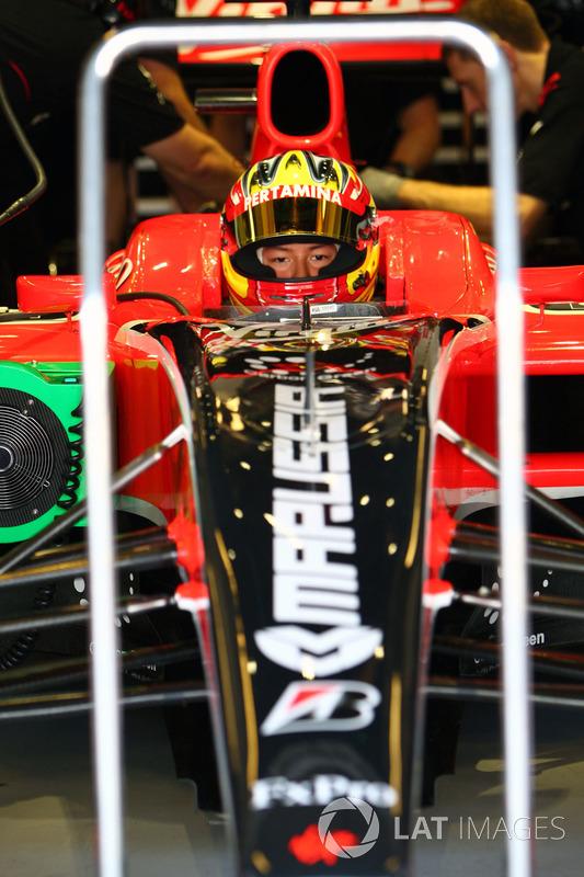 Rio Haryanto, Virgin Racing  VR-01