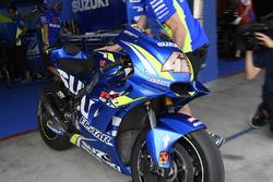 Bike of Alex Rins, Team Suzuki MotoGP
