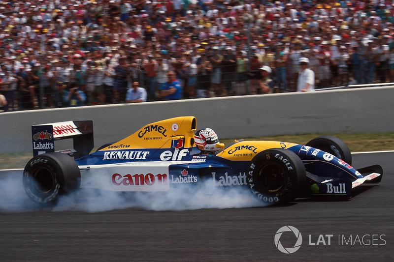 1991: Williams FW14 Renault (7 побед, 2-е место в КК)