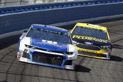 Alex Bowman, Hendrick Motorsports, Chevrolet Camaro Nationwide and Trevor Bayne, Roush Fenway Racing, Ford Fusion Performance Plus