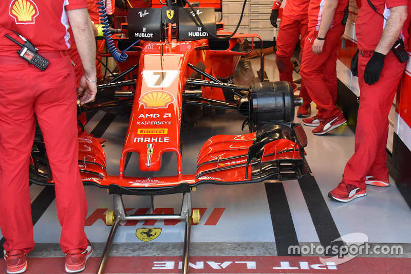 Ferrari SF71H, Kimi Raikkonen
