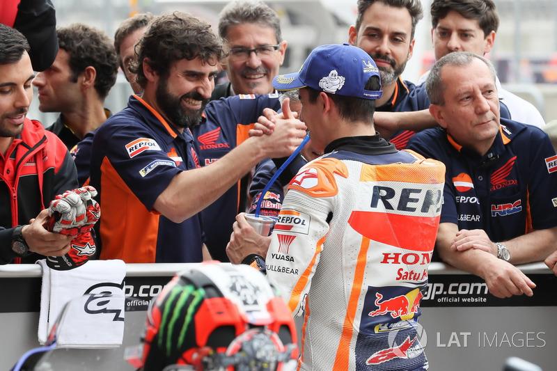 Pole position pour Marc Marquez, Repsol Honda Team