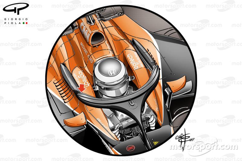 Halo del McLaren MCL32