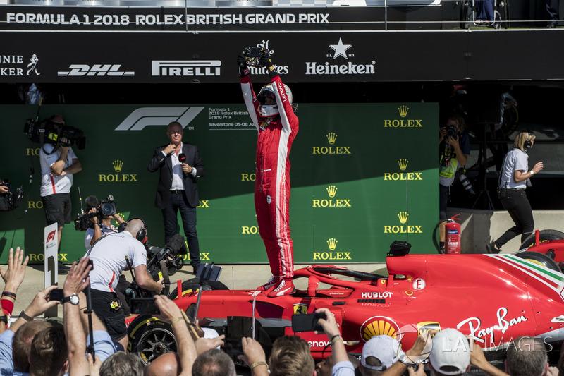 Sebastian Vettel, Ferrari