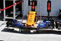 McLaren MCL33, ніс і передні антикрила