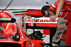 Ferrari SF70H rear wing