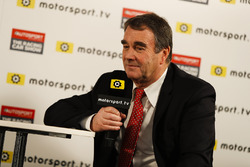 Nigel Mansell talks to Peter Windsor for Motorsport TV