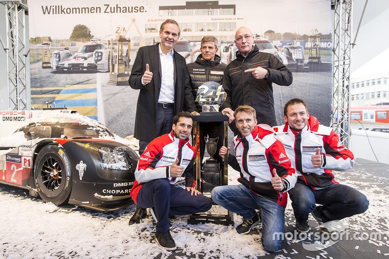 Neel Jani, Timo Bernhard, Nick Tandy, Porsche Team
