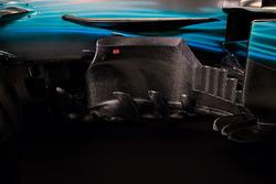 تفاصيل جانب سيارة مرسيدس