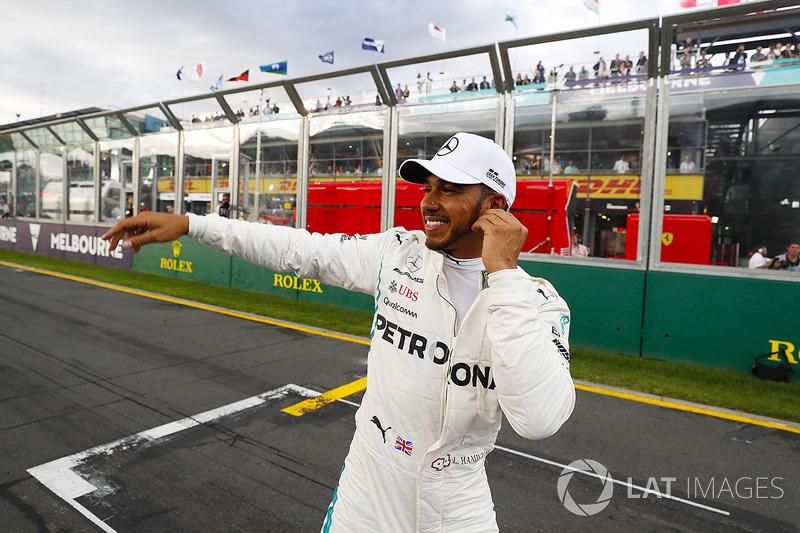 Formule 1 La grille de départ du GP d'Australie