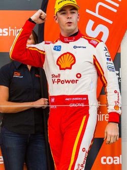 Podium: second place Scott McLaughlin, DJR Team Penske Ford