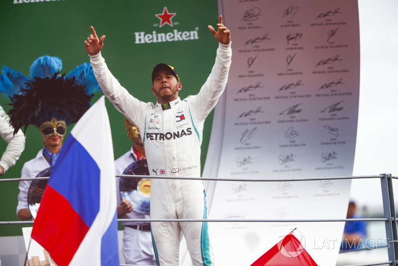 2º Lewis Hamilton: 128 podios