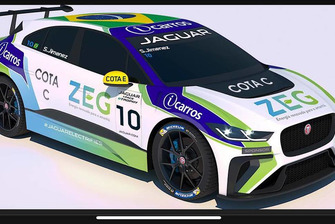 Carro da Jaguar Brasil Racing