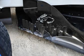 Боковой дефлектор Haas F1 Team VF-18