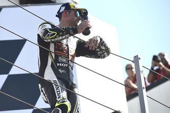 Подіум: третє місце Кел Кратчлоу, Team LCR Honda