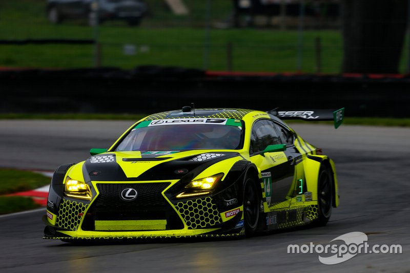 Richard Heistand and Jack Hawksworth scored the first win for the AIM Vasser-Sullivan Lexus team after a tough battle with MSR Acura.