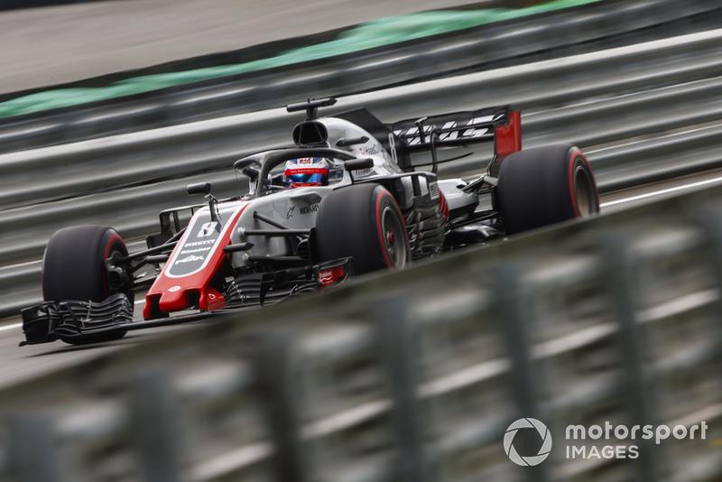 7º Haas con Romain Grosjean: 2,59 segundos
