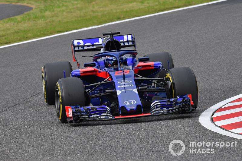 10 місце — Брендон Хартлі (Нова Зеландія, Toro Rosso) — коефіцієнт 2001,00