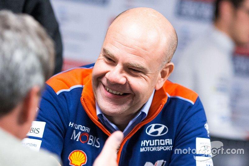 Andrea Adamo, Team Director di Hyundai Motorsport