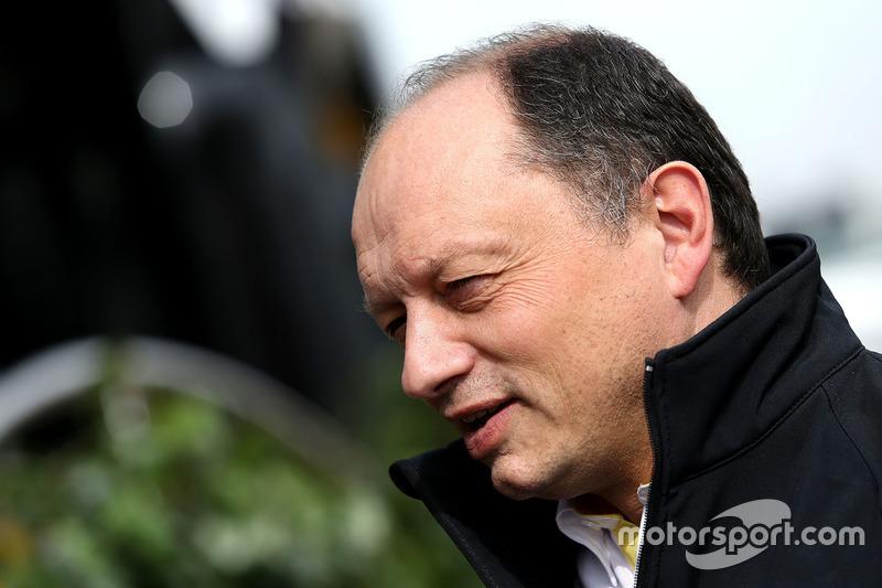 Frederic Vasseur, Renault Sport F1 Team Renndirektor