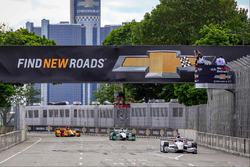 Will Power, Team Penske Chevrolet se lleva la bandera a cuadros