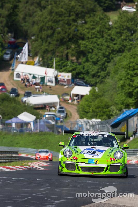 #68 HRT Performance, Porsche 991 GT3: Michael Czyborra, Stefan Kenntemich