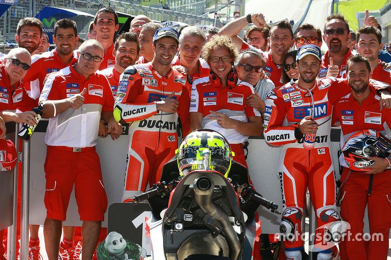 Poleman Andrea Iannone, Ducati Team, Andrea Dovizioso, Ducati Team